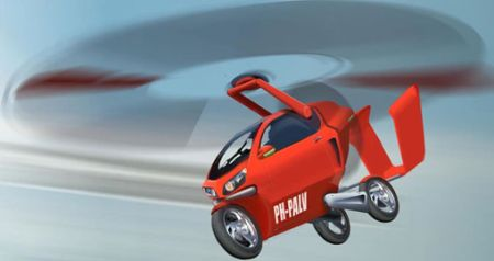 pal v flying car
