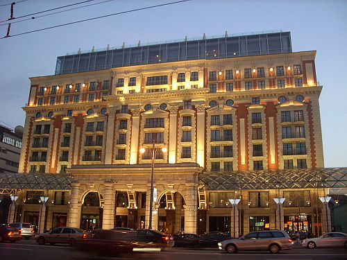 the ritz carlton moscow opulent venue