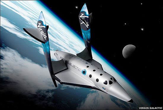 SpaceShipTwo to touch new horizon in space tourism