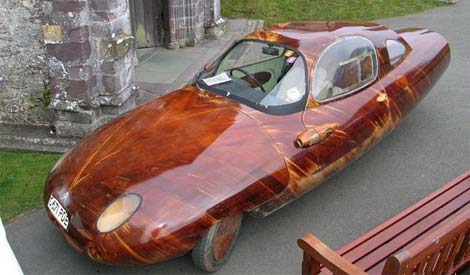hand made wooden car nog14 48