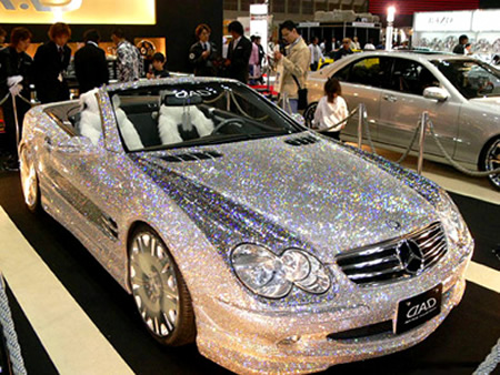 diamond covered mercedes sl  USZCq 5784