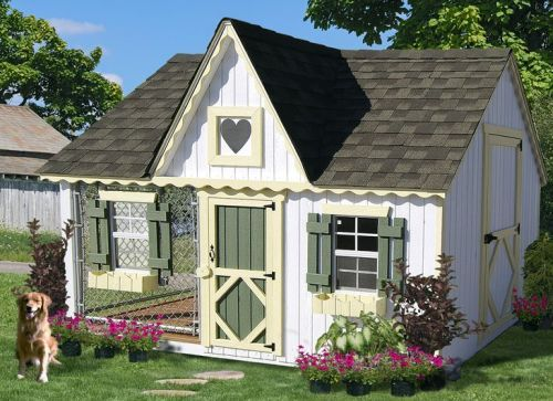 victorian cozy cottage kennel dog house q975g 52