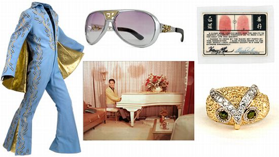 elvis presley auction