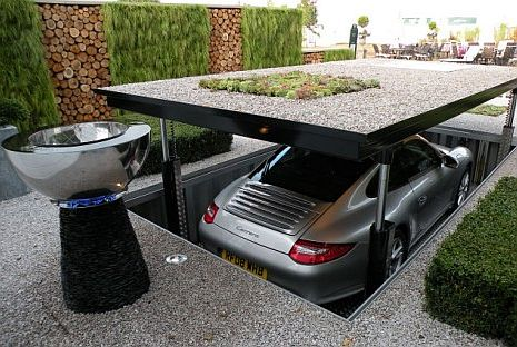 pop up garage