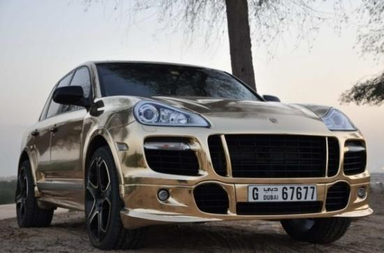 gold plated cayenne