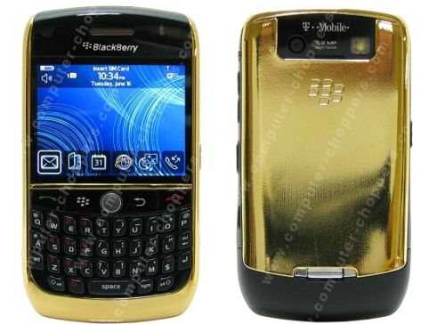 gold blackberry 8900 curve