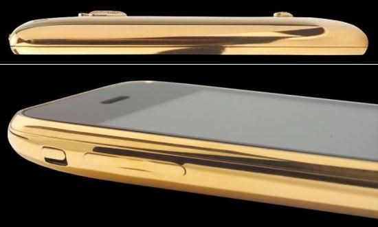 iphone 3g limited diamond deluxe gold edition 01