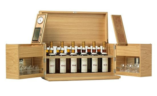 macallan linley whisky cabinet