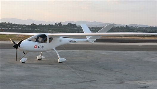 yuneec electric sport airplane