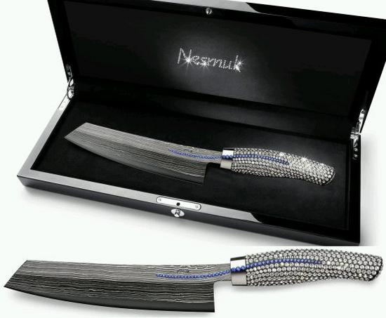 nesmuk chefs crystallized knife