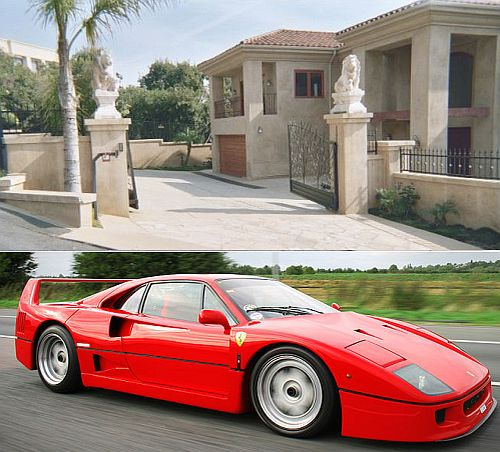 malibu home wiith ferrari 1