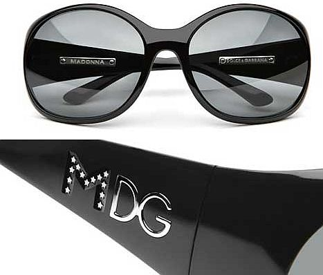 madonna dolce and gabbana eyewear 3