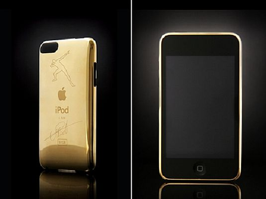 goldgenie usain bolt ipod 1