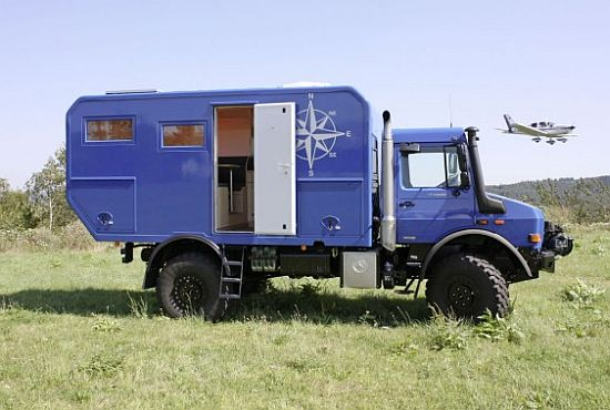 mercedes benz unimog expedition camper concept 2