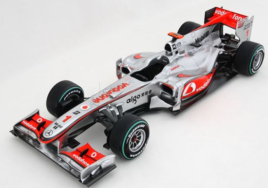 vodafone mclaren mercedes scale replica