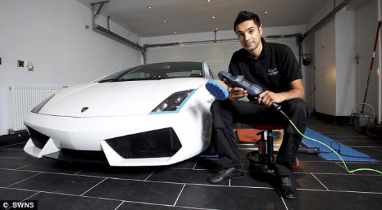 gurcharn sahota most expensive car wash