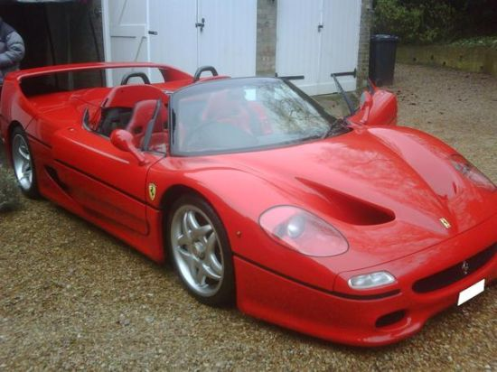 sultan of brunei ferrari f50 car 1