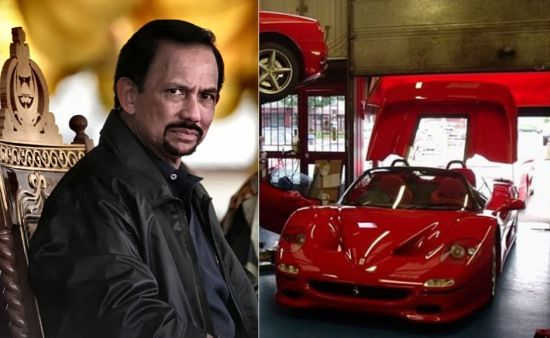 sultan of brunei ferrari f50