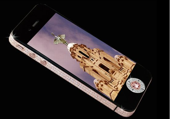 stuart hughes iphone 4 diamond rose edition 1