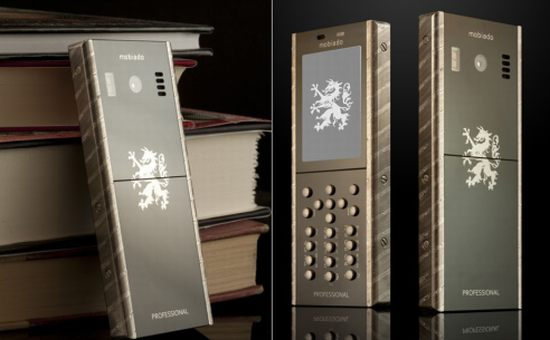 mobiado 105 damascus luxury mobile phone