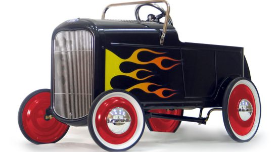 1932 flamed roadster hot rod