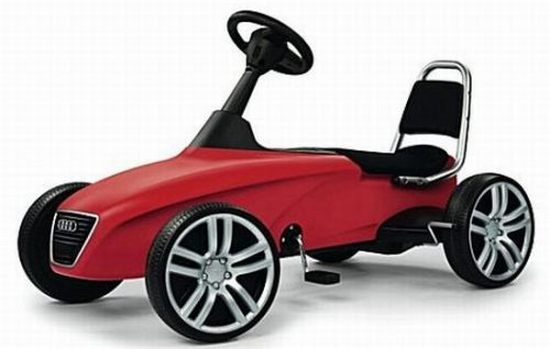 selfridges exclusive audi kids sports car