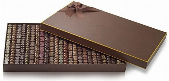 michel cluizel chocolate gift