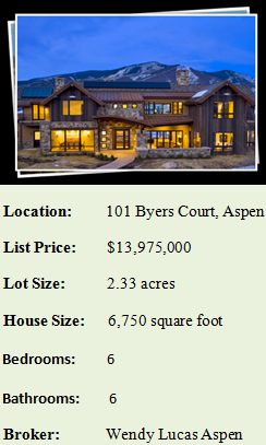 vision house aspen factbox