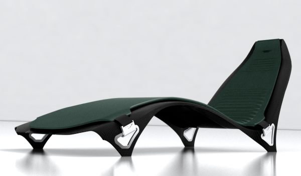 aston martin chaise lounge