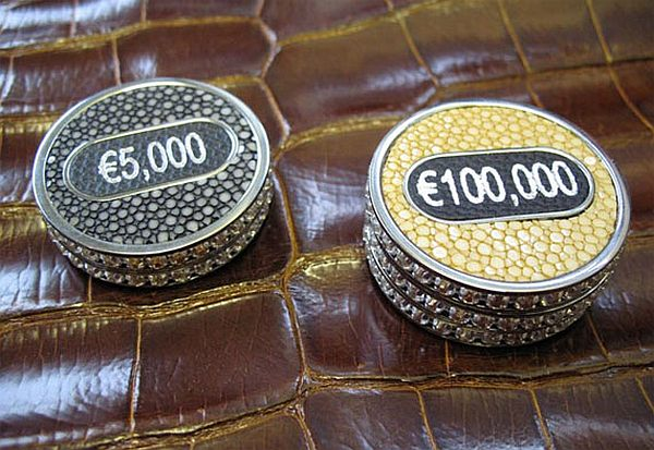geoffrey parkers worlds most expensive poker set