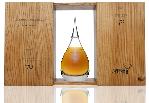 gordon macphails the glenlivet 70 years old whisky