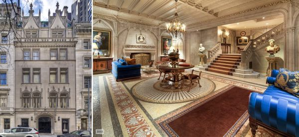 manhattans 90 million townhouse