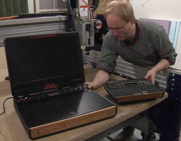ben heck 1970s atari style xbox 360 system 1