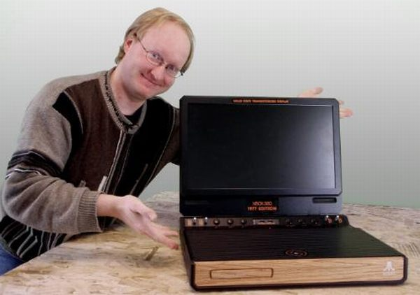 ben heck 1970s atari style xbox 360 system