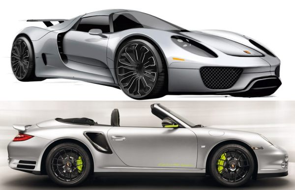 porsche 918 spyder plug in hybrid super car