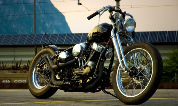 harley davidson 1949 panhead by christian de kant