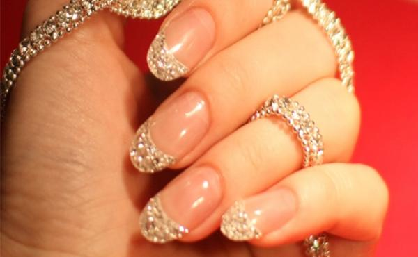 iced diamond manicure cherish me