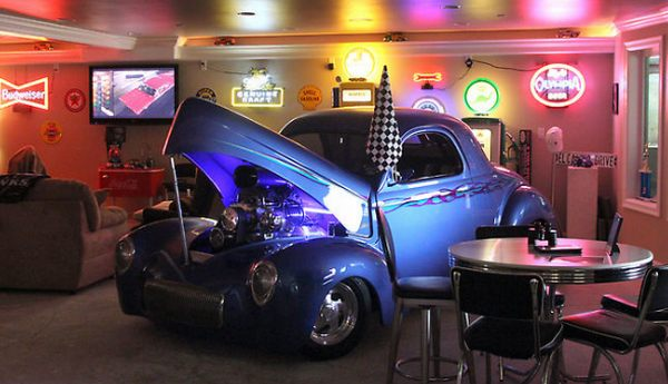 Hot Rod Man Cave Ideas : Ask my contractor