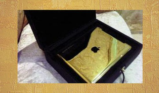 gold co gold plated ipad 2