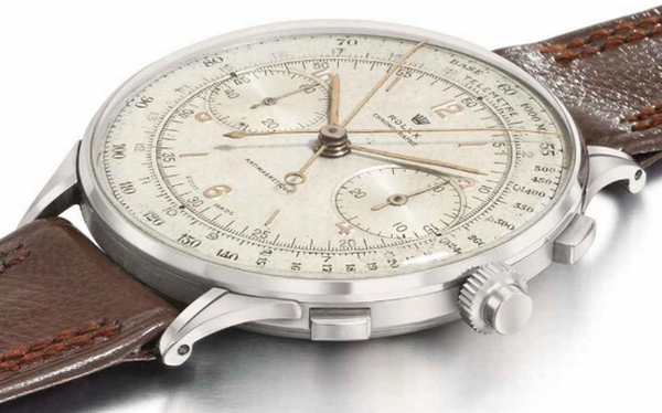 1942 rolex split seconds chronograph reference 411