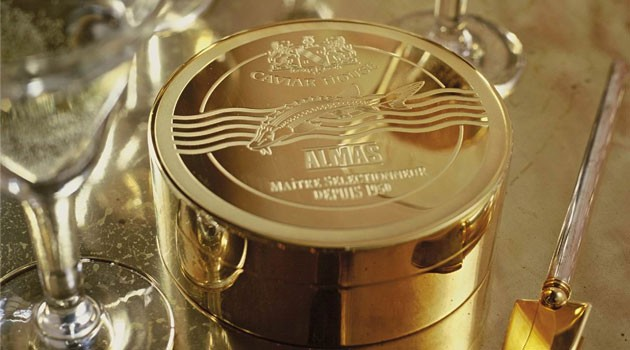 Almas caviar most expensive caviar in the world bornrich for Caviar comes from what fish